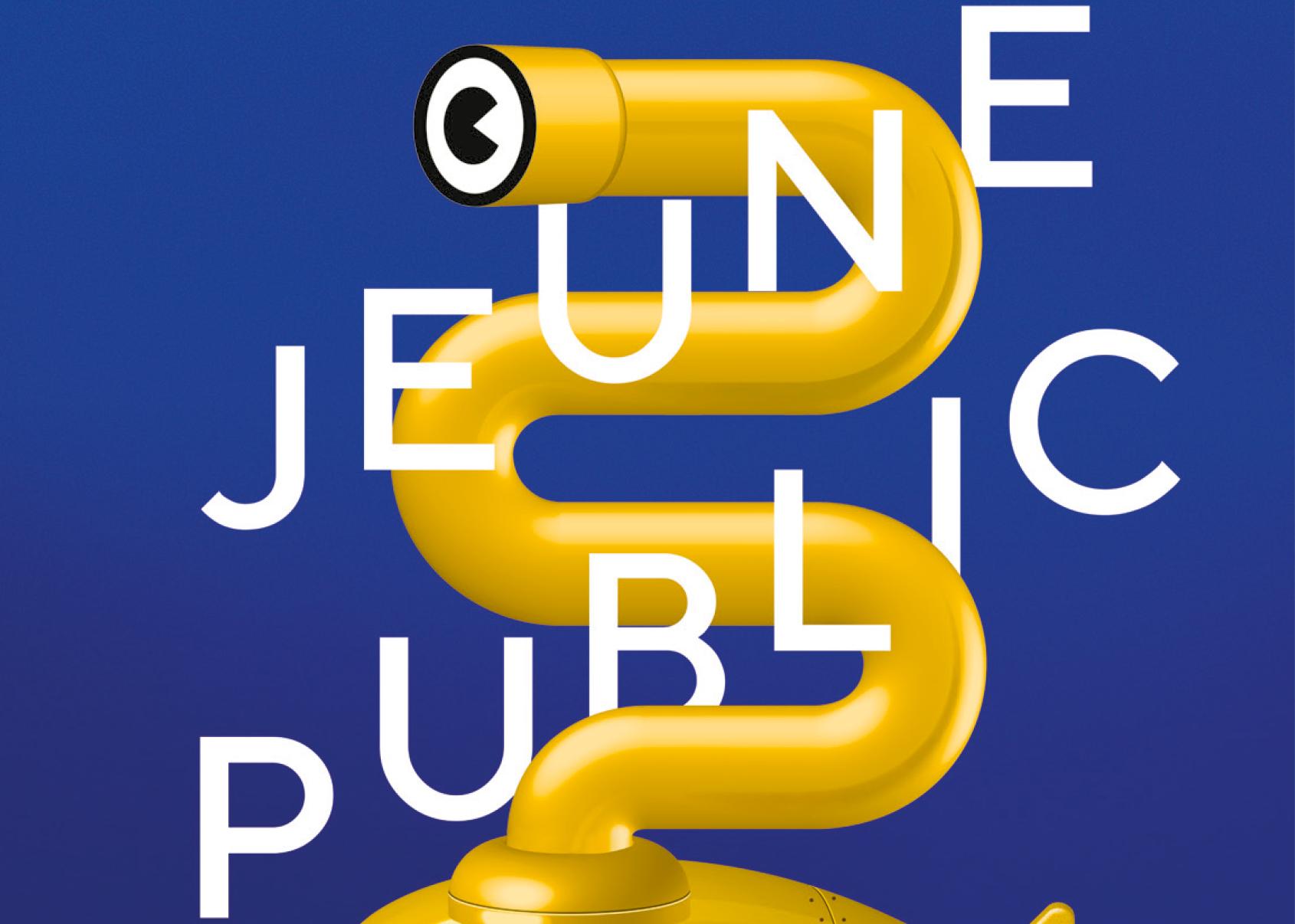 Visuel de la programmation jeune public de la saison 2020-2021 du Moulin du Roc à Niort