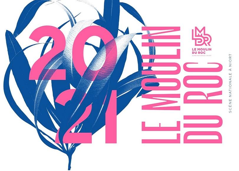 Visuel de la saison 202-2021 du Moulin du Roc à Niort