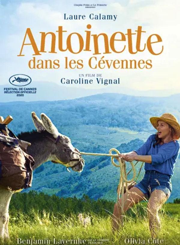 Affiche du film Antoinette dans les Cévènes programmé par le cinéma du Moulin du Roc à Niort