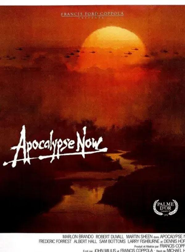 Affiche du film Apocalypse Now programmé par le cinéma du Moulin du Roc à Niort