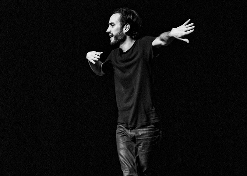 L'humoriste Laurent Sciamma