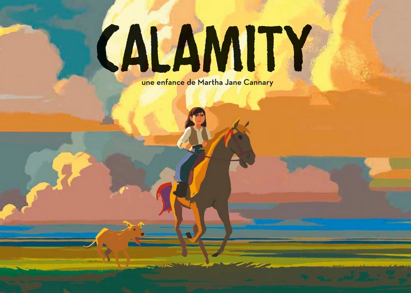 Affiche de CALAMITY, film d'animation à découvrir en famille au cinéma du Moulin du Roc à Niort