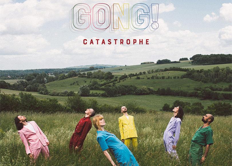 La pochette de l'album Gong ! du groupe Catastrophe