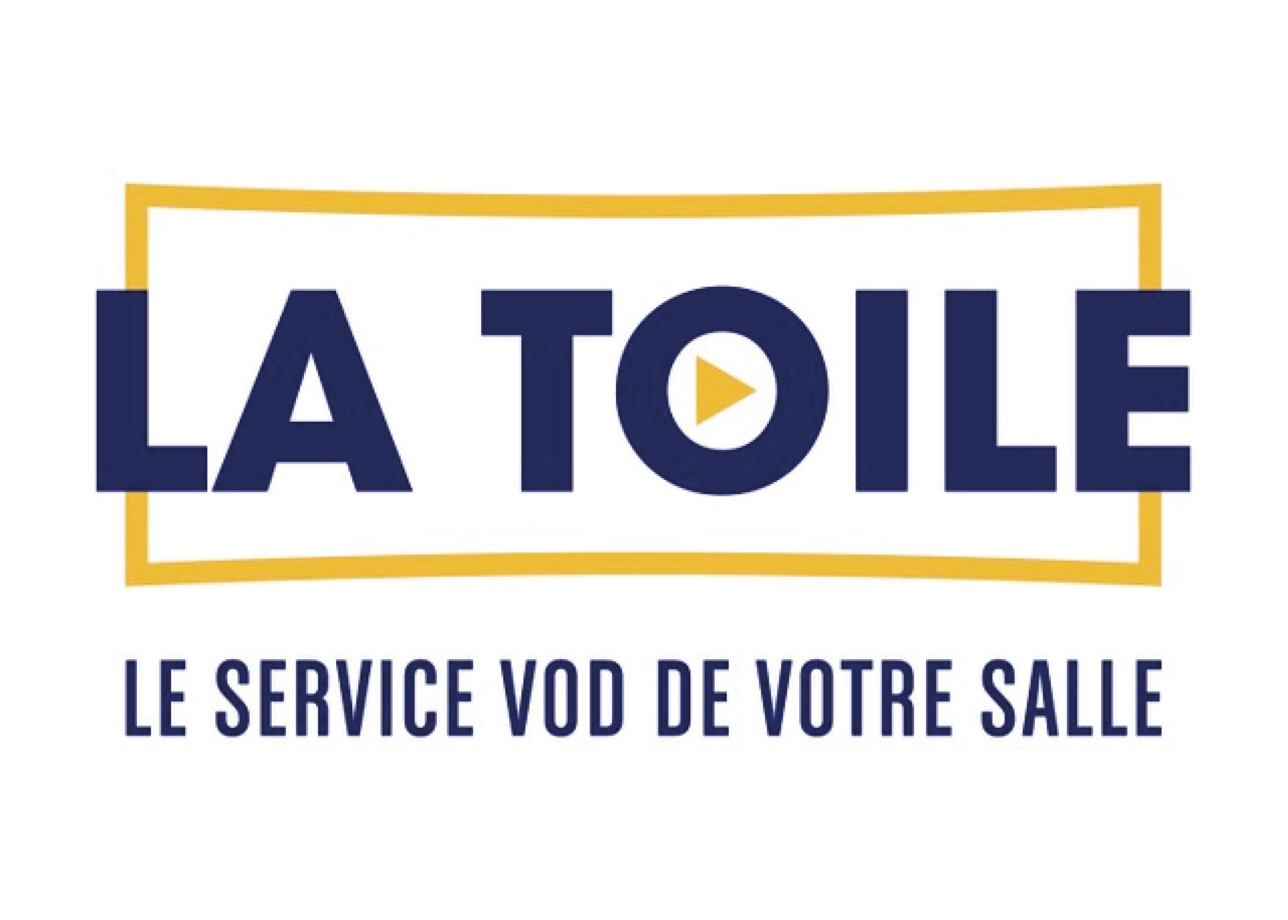 Logo de La toile, service de VOD - programmation par le cinéma du Moulin du Roc à Niort