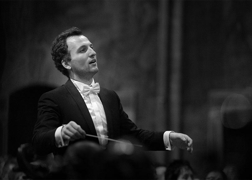 Le chef d'orchestre Jacob Victor.