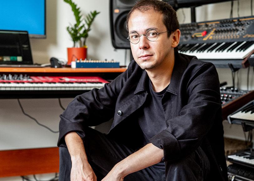 Le compositeur Rone.