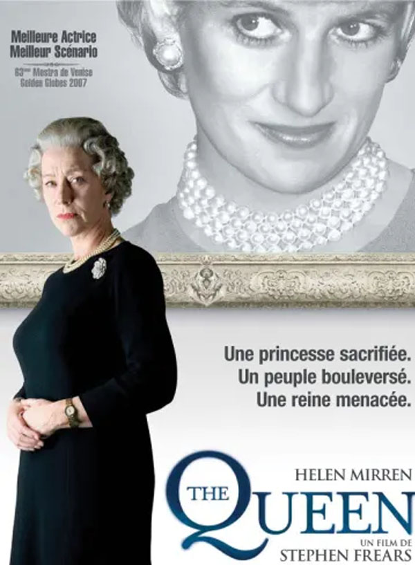 Affiche du film The Queen programmé par le cinéma du Moulin du Roc à Niort